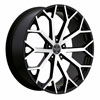 Image of VERSANTE 229 BLACK MACHINED wheel