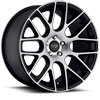 Image of NICHE CIRCUIT BLACK MACHINED wheel