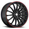 Image of KATANA K15 MATTE BLACK wheel