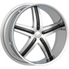 Image of SPECIALS TRUCK DCENTI DW9 CHROME SUV wheel