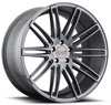 Image of BLAQUE DIAMOND BD TWO ALL MATTE GRAPHITE wheel