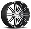 Image of BLAQUE DIAMOND BD TWO  GRAPHITE MACHINED wheel