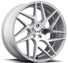 Image of BLAQUE DIAMOND BD THREE SILVER POLISHED wheel