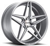Image of BLAQUE DIAMOND BD EIGHT SILVER POLISHED wheel