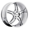 Image of MKW M113C CHROME wheel