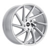 Image of RSR R701 SILVER MACHINED wheel