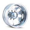 Image of ION 167 SILVER POLISHED REAR wheel