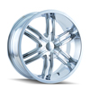 Image of DIP D98 HACK CHROME SUV wheel