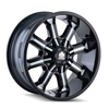 Image of MAYHEM BEAST BLACK wheel