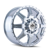 Image of MAYHEM MONSTIR DUALLY CHROME FRONT wheel