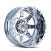 Image of MAYHEM MONSTIR DUALLY CHROME REAR wheel