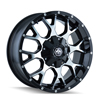 Image of MAYHEM WARRIOR BLACK MACHINE wheel
