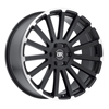 Image of BLACK RHINO SPEAR BLACK MACHINE wheel