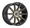 Image of MACH EURO ME9 GLOSS BLACK TINT wheel