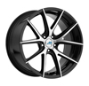 Image of MACH EURO ME15 BLACK MACHINE wheel