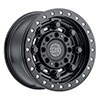 Image of BLACK RHINO GARRISON BEADLOCK BLACK wheel