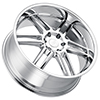 Image of BLACK RHINO KATAVI CHROME wheel