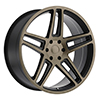 Image of BLACK RHINO SAFARI DARK TINT wheel