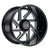 Image of BLACK RHINO SWERVE wheel
