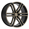 Image of BLACK RHINO TIMBAVATI DARK TINT wheel