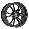 Image of BLACK RHINO ZION 6 BLACK DARK TINT wheel