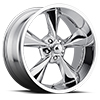 Image of VOXX HOT ROD OLD SCHOOL CHROME wheel