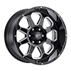 Image of VOXX TRUCK GFX TR10 GLOSS BLACK MILLED wheel