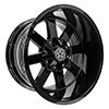 Image of DWG OFFROAD DW15 BLACK wheel