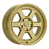 Image of BLACK RHINO RUMBLE GOLD wheel