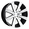 Image of DUB 8 BALL BLACK wheel