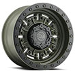 Image of BLACK RHINO ABRAMS GREEN wheel