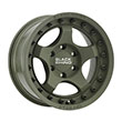 Image of BLACK RHINO BANTAM GREEN wheel
