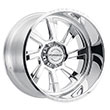 Image of BLACK RHINO BLASTER FORGED POLISHED wheel