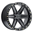 Image of BLACK RHINO HENDERSON MATTE BLACK wheel