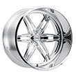 Image of BLACK RHINO MAURAUDER FORGED POLISHED wheel