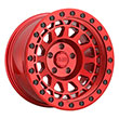 Image of BLACK RHINO PRIMM RED wheel