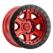 Image of BLACK RHINO RENO BEADLOCK RED wheel
