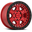Image of BLACK RHINO RENO RED wheel