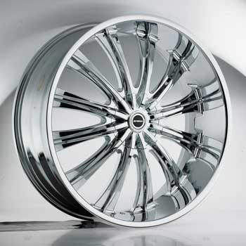 SPECIALS TRUCK STRADA CORONA CHROME - Chrome Finish