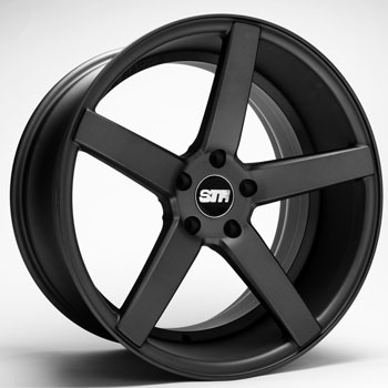 STR RACING STR 607 MATTE GUNMETAL - Matte Gunmetal Finish