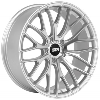 STR RACING STR 615 SILVER - Silver/Machined Finish
