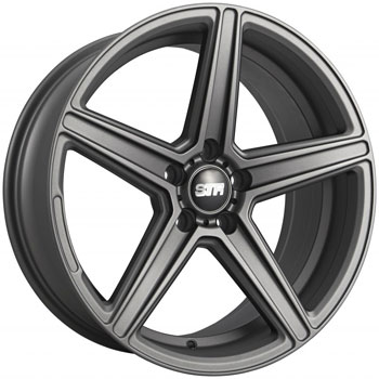 STR RACING STR 617 MATTE GUNMETAL - Matte Gunmetal Finish