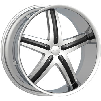 SPECIALS CAR DCENTI DW9 CHROME - Chrome/Black Inserts Finish
