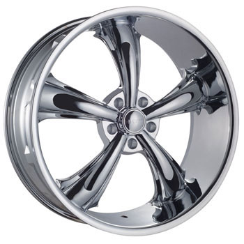 SPECIALS CAR DCENTI DW19A CHROME - Chrome Finish