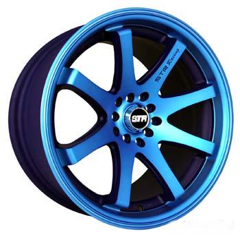 STR RACING STR 522 NEON BLUE Wheels, Rims - Victoria Tire